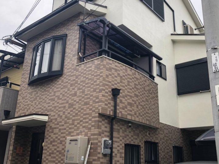 八尾市本町 M様邸 外壁塗装工事・屋根塗装工事