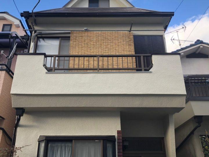 八尾市本町 M様邸 外壁塗装工事