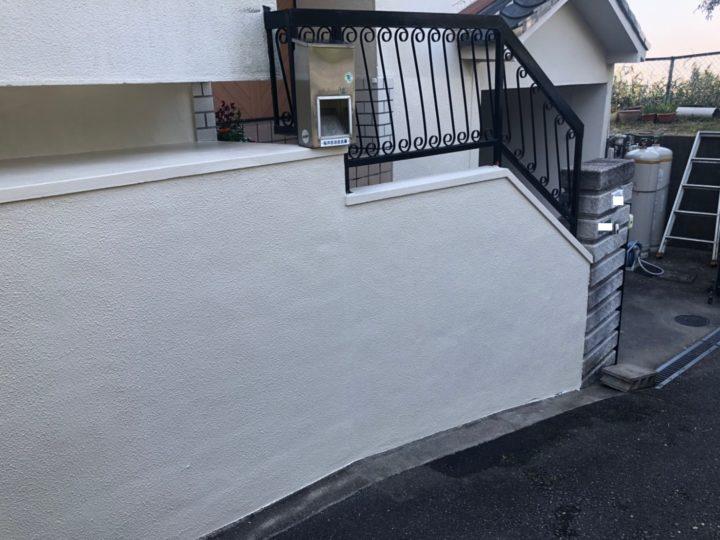 東大阪市 T様  外観スッキリ!  外壁塗装/屋根張替え
