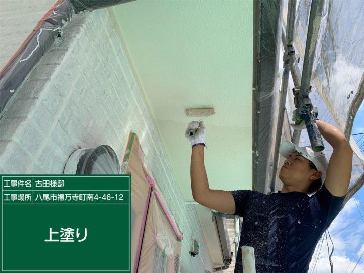 鉄部以外付帯塗装/軒裏