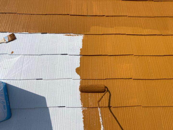 屋根/中塗り・中吹き