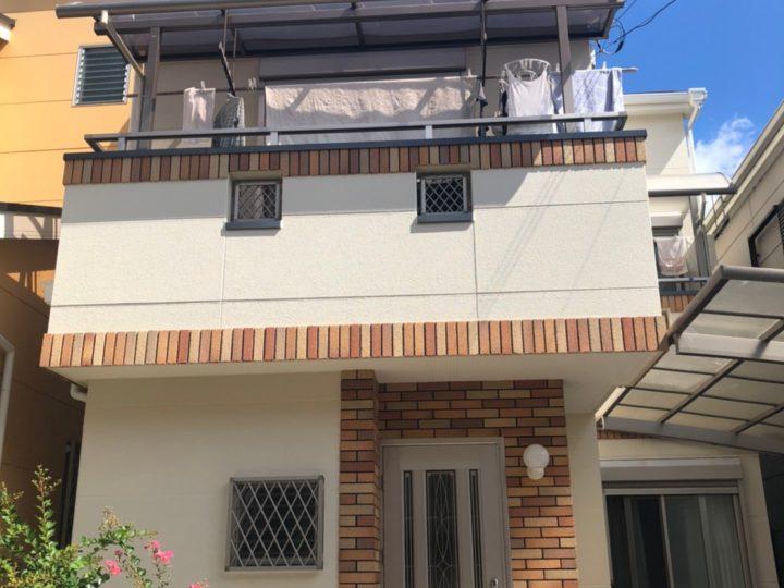 八尾市 T様 外壁も屋根もきれいになりました 外壁・屋根塗装工事