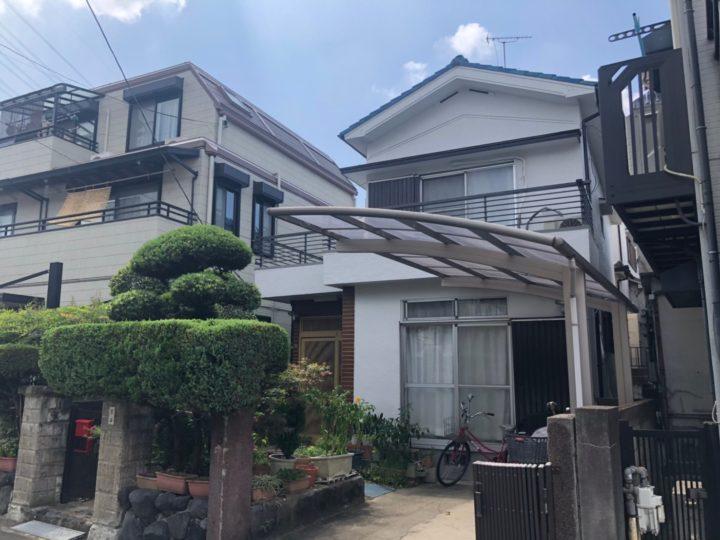 大阪府八尾市K様邸 雨漏り予防を相談しました 外壁塗装工事