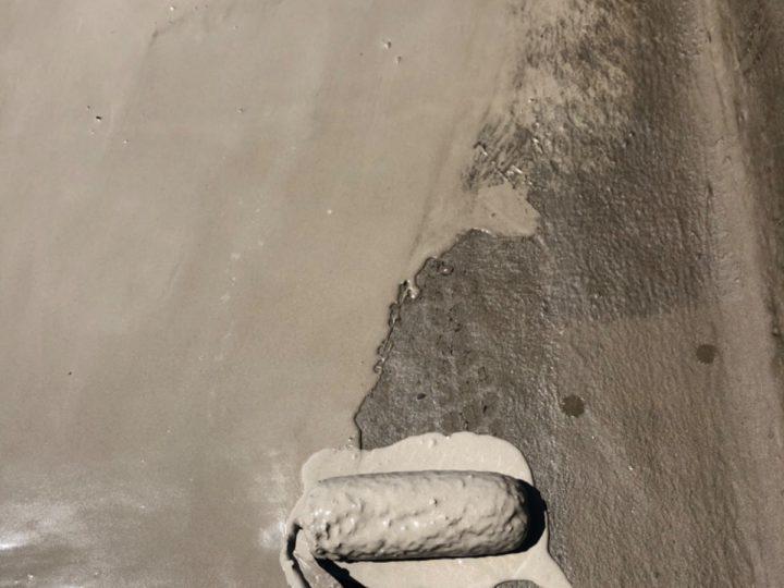 屋上水性塗膜防水工事