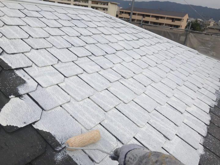 屋根/下塗り1回目