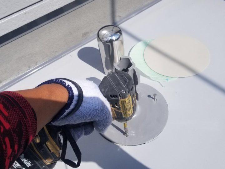 屋上防水/脱気筒設置