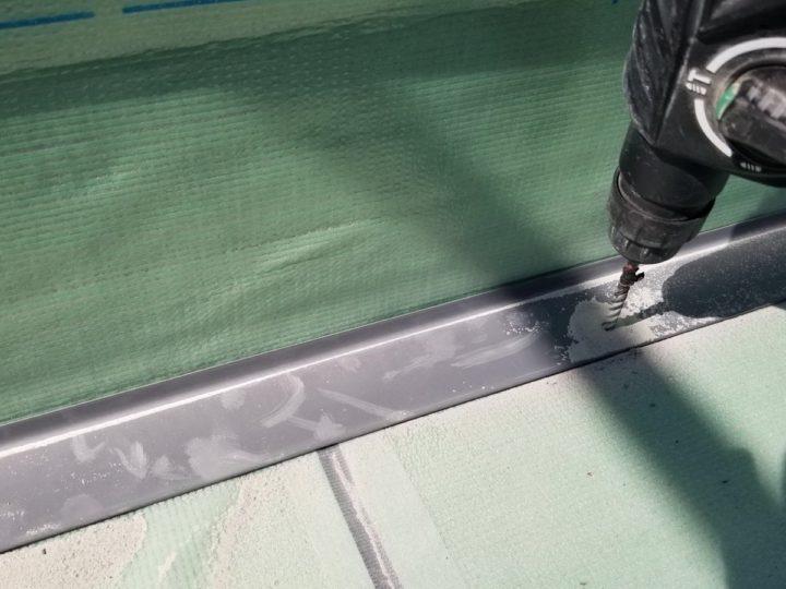 屋上防水/鋼板取付