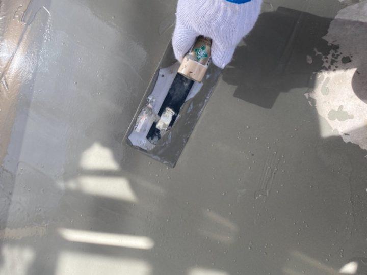 ベランダ防水/カチオンしごき