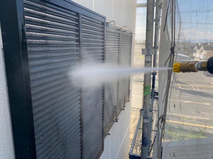 高圧洗浄/雨戸