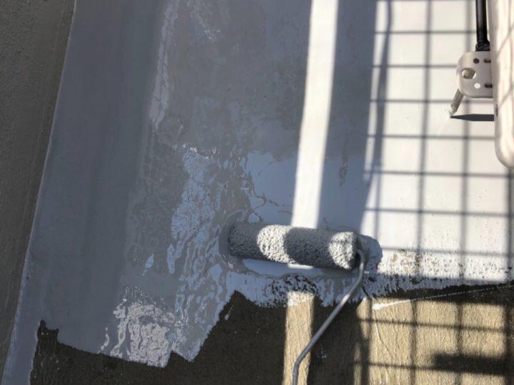 ベランダ防水/ウレタン防水層1層