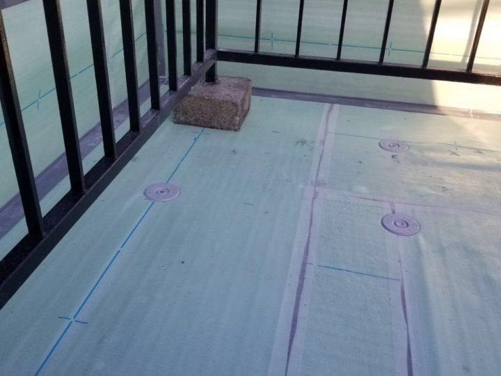 屋上防水/ディスク取付