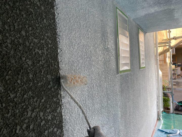 外壁/下塗り2回目