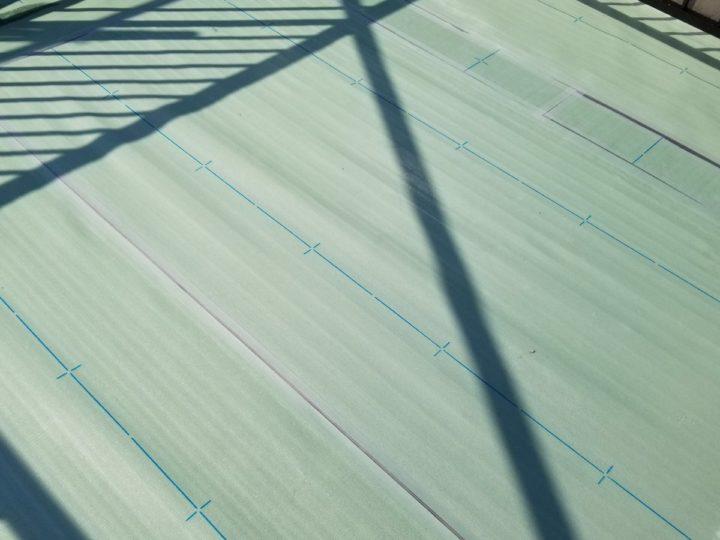 屋上防水/絶縁シート敷設