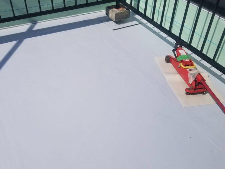 屋上防水/塩ビシート敷設