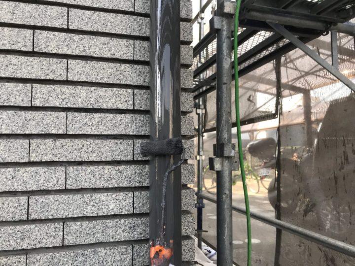 付帯工事/雨樋塗装ウレタン2層目