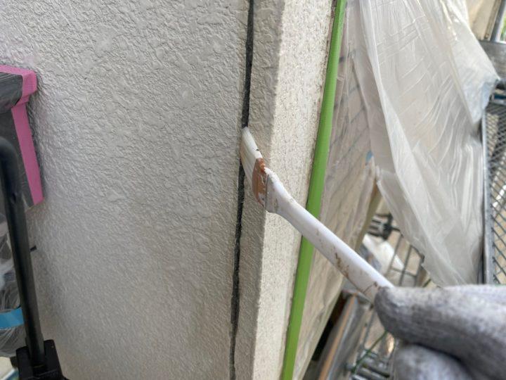 外壁補修工事/プライマー塗布
