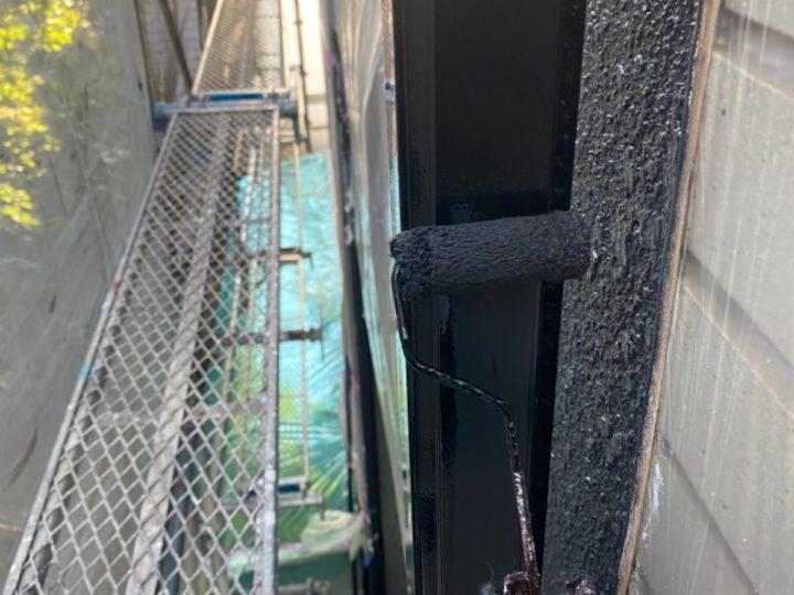 付帯工事/雨樋中塗り