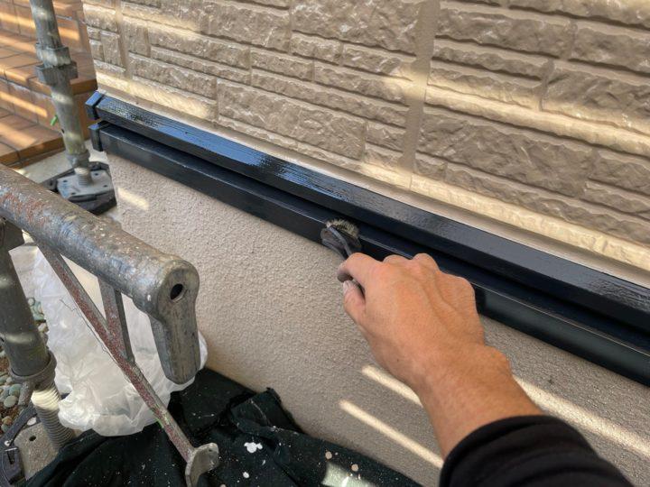 付帯工事/水切り上塗り