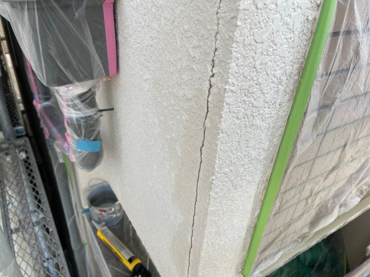 外壁補修工事/施工前