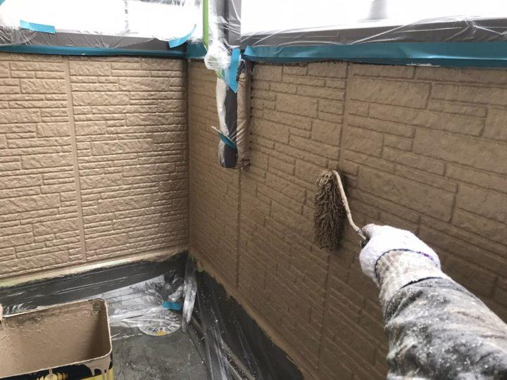 外壁塗装/上塗り