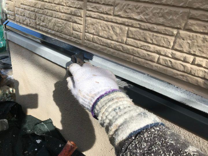 付帯工事/水切り中塗り