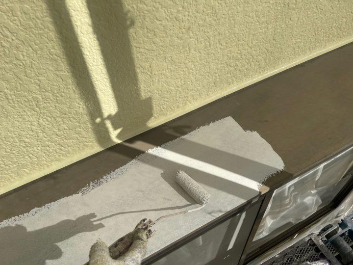 付帯工事/庇下塗り