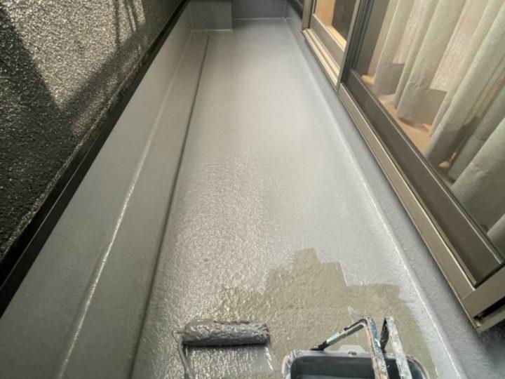 ベランダ防水/トップコート塗布