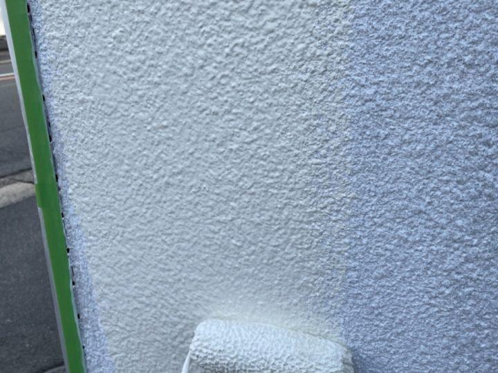 擁壁塗装/中塗り