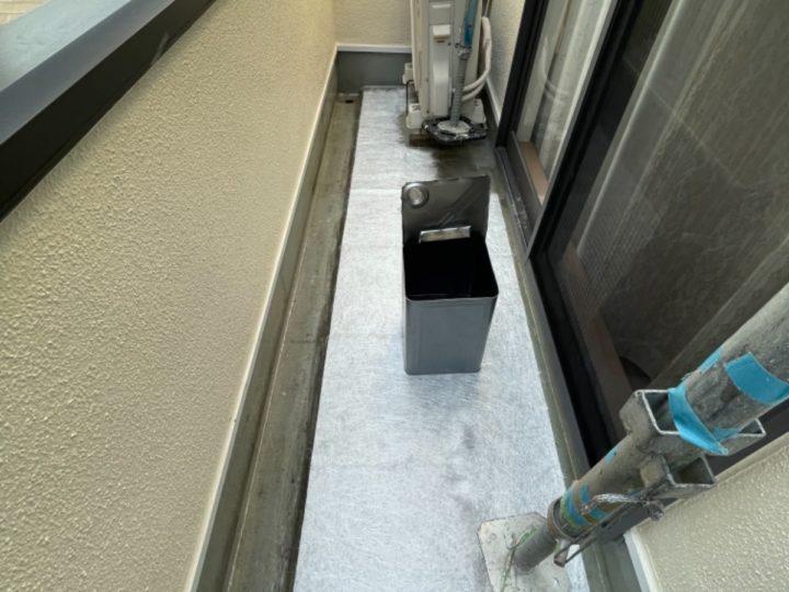 防水工事/ガラスマット敷き詰め