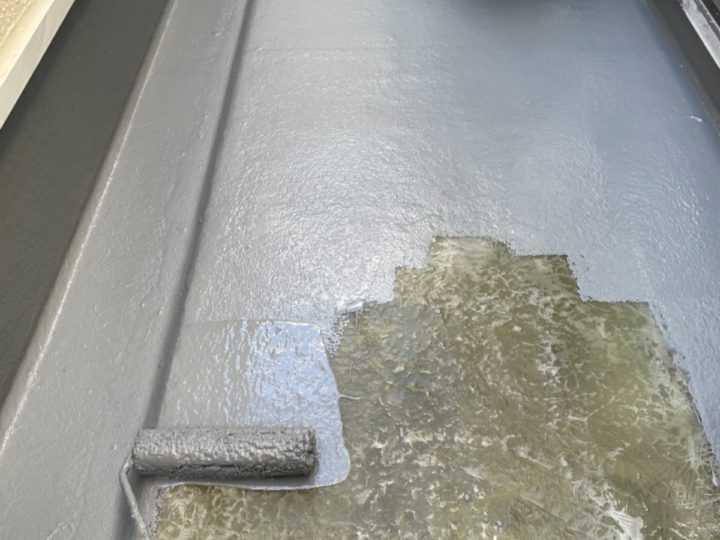 防水工事/トップコート塗布