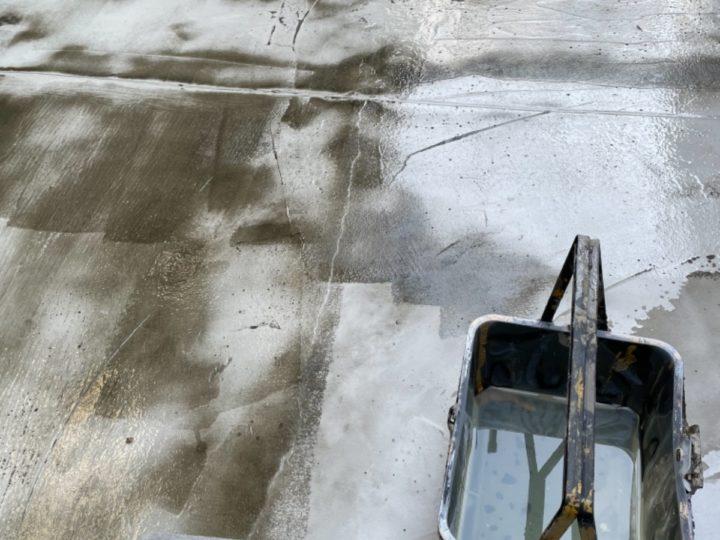 ベランダ防水/プライマー塗布
