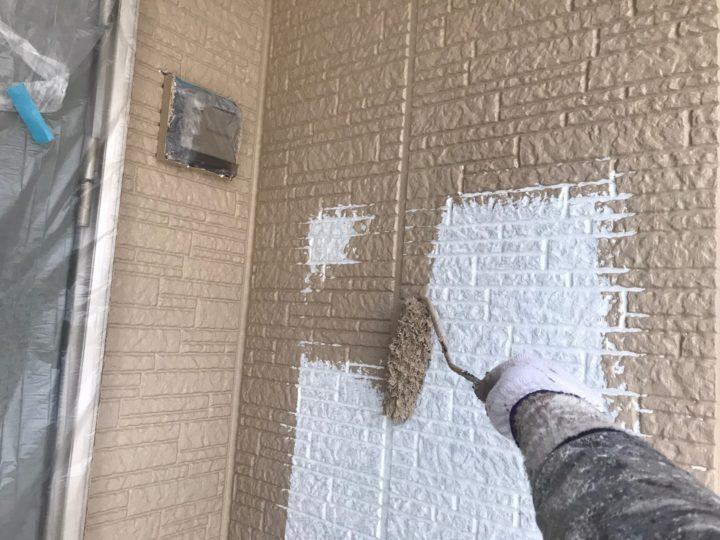 外壁塗装/中塗り