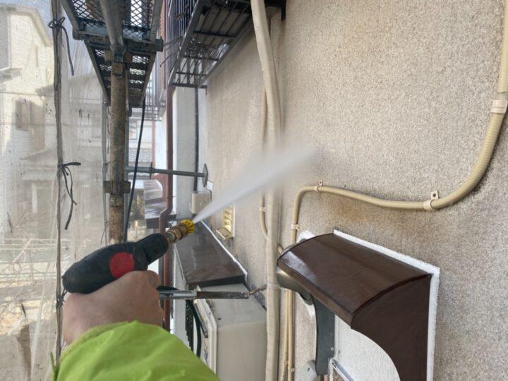 高圧洗浄/外壁