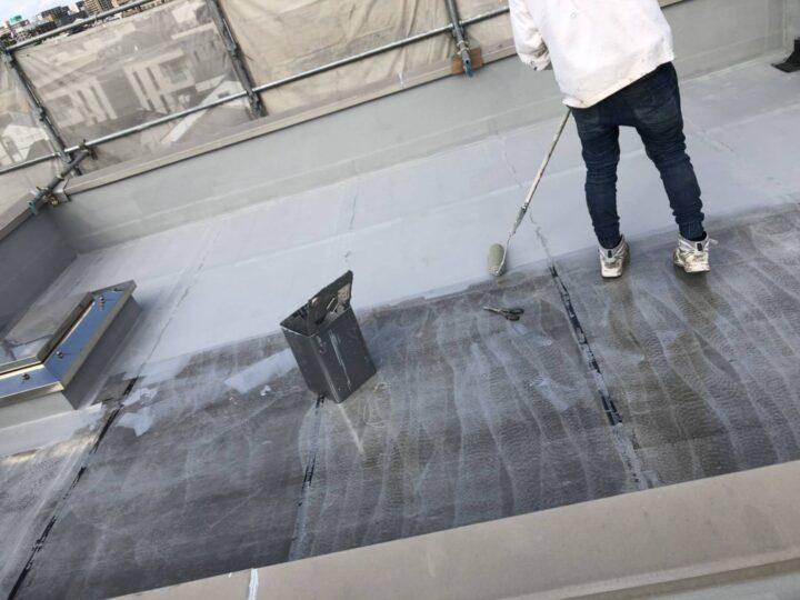 屋上防水/クロス張り