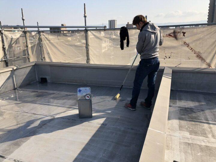 屋上防水/カチオン塗布