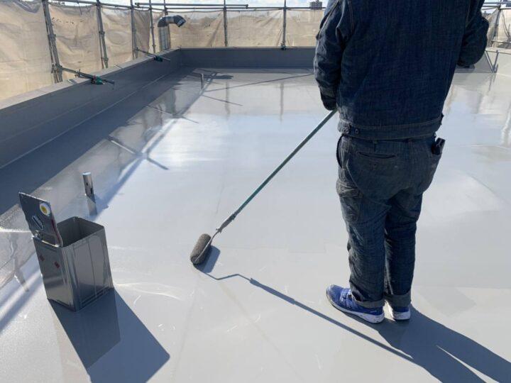 屋上防水/ウレタン塗膜防水