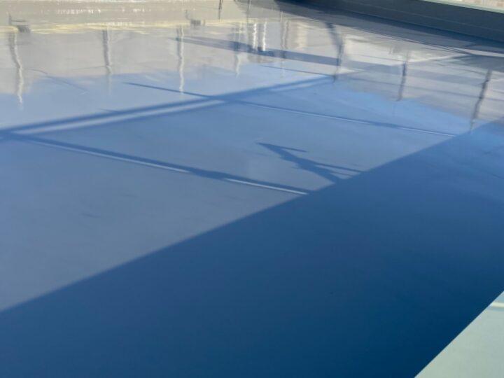 屋上防水/トップコート塗布