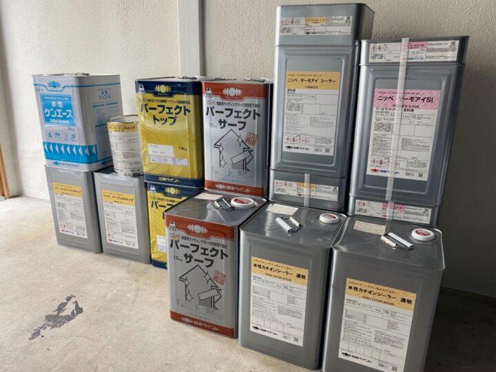 屋根・外壁塗装/材料