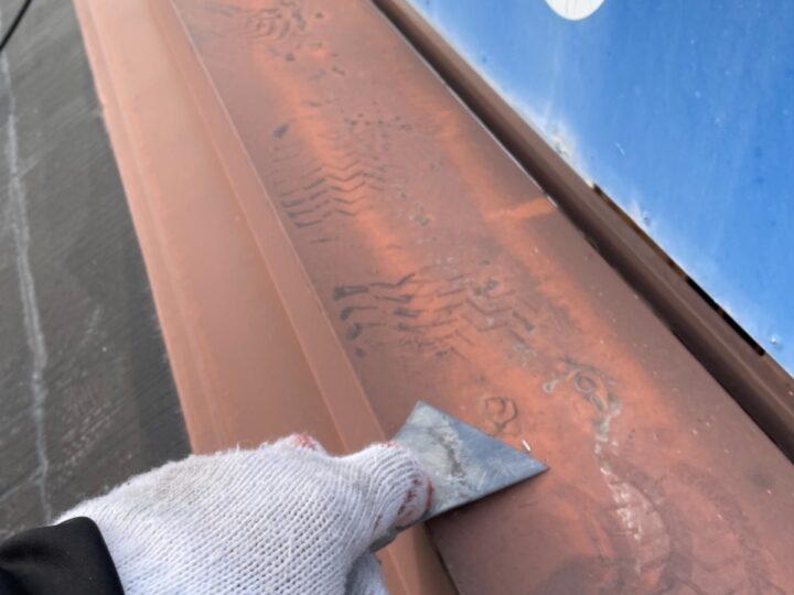 屋根塗装/ケレン