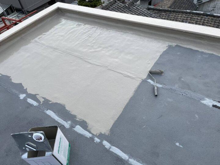 屋上防水/水性塗膜1層目