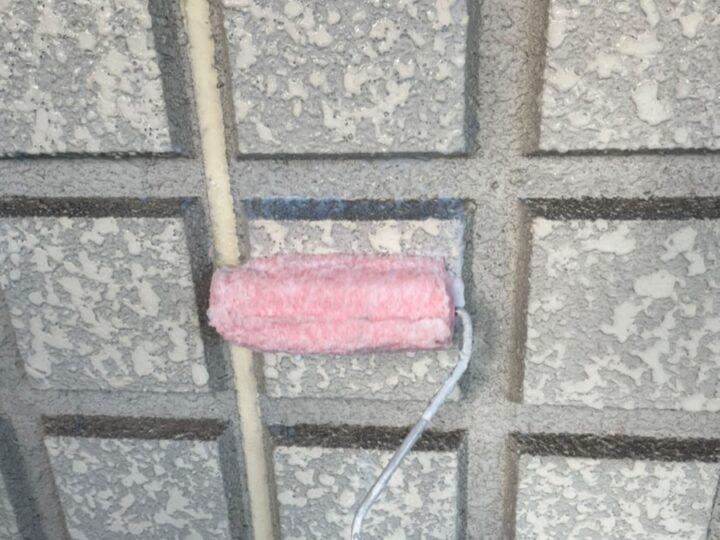 外壁塗装/下塗り1層目