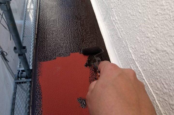 付帯部/出窓中塗り