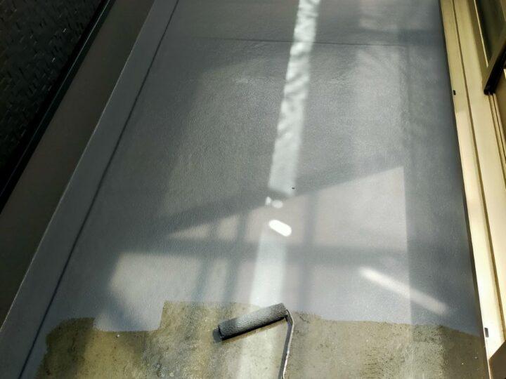 バルコニー防水/トップコート塗布