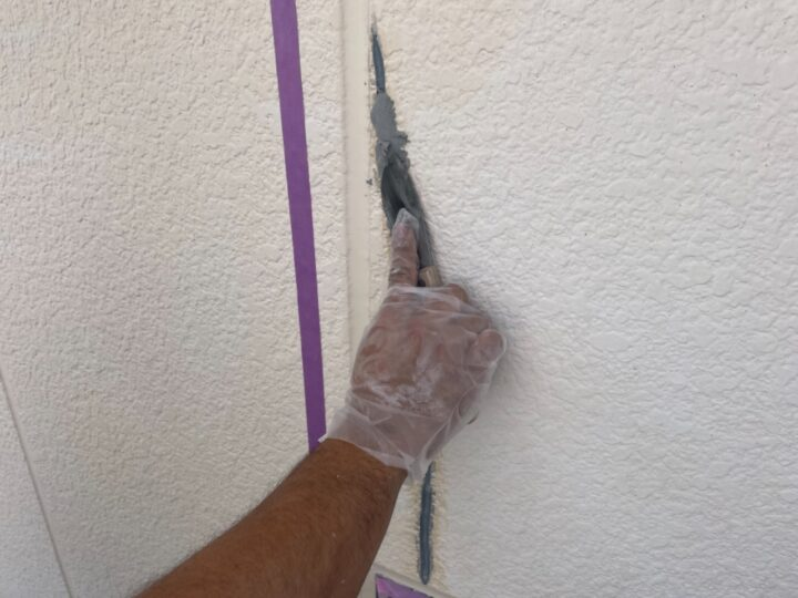 外壁補修/ヘラ押え