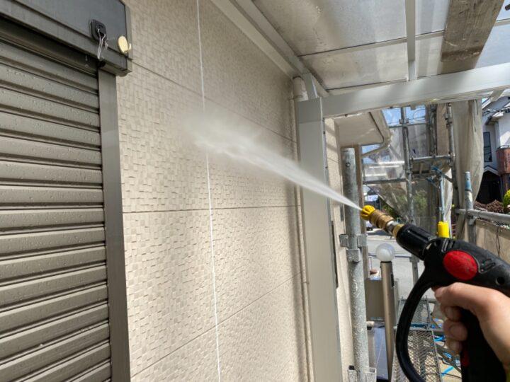 高圧洗浄/壁