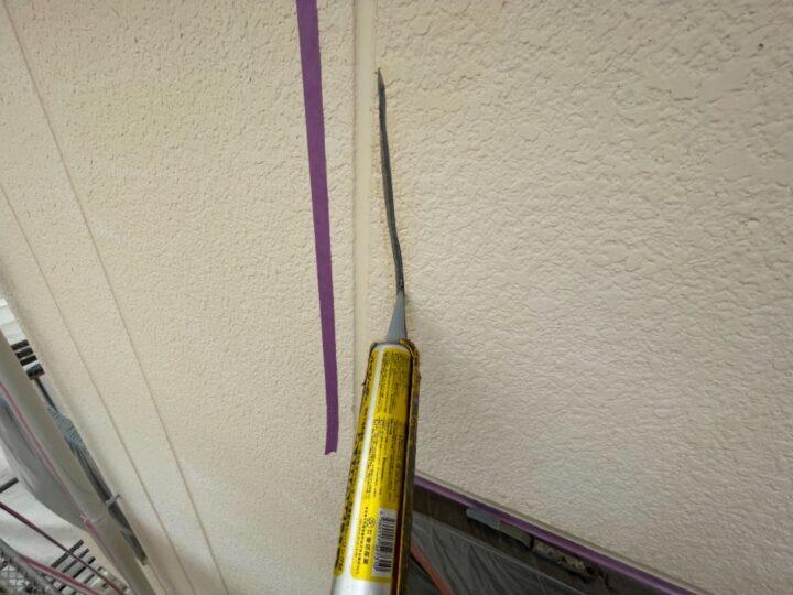 外壁補修/シーリング打ち込み