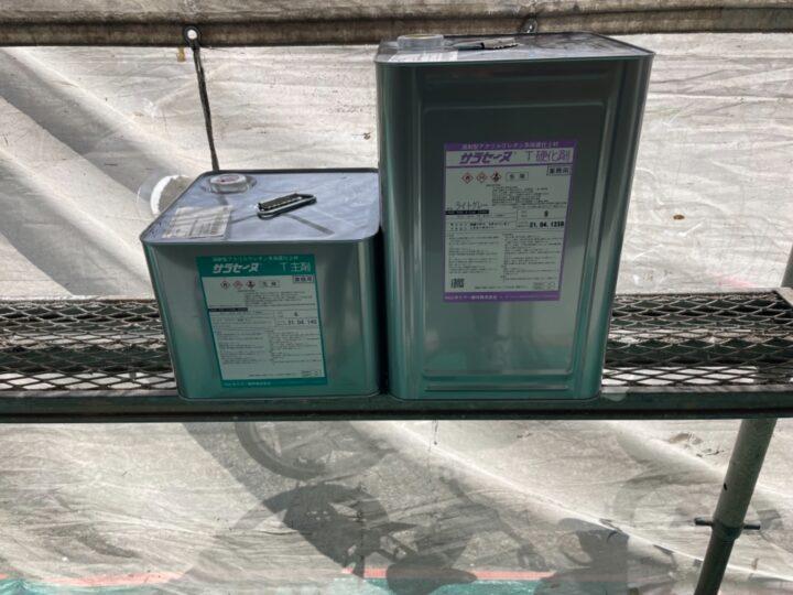 バルコニー防水/材料