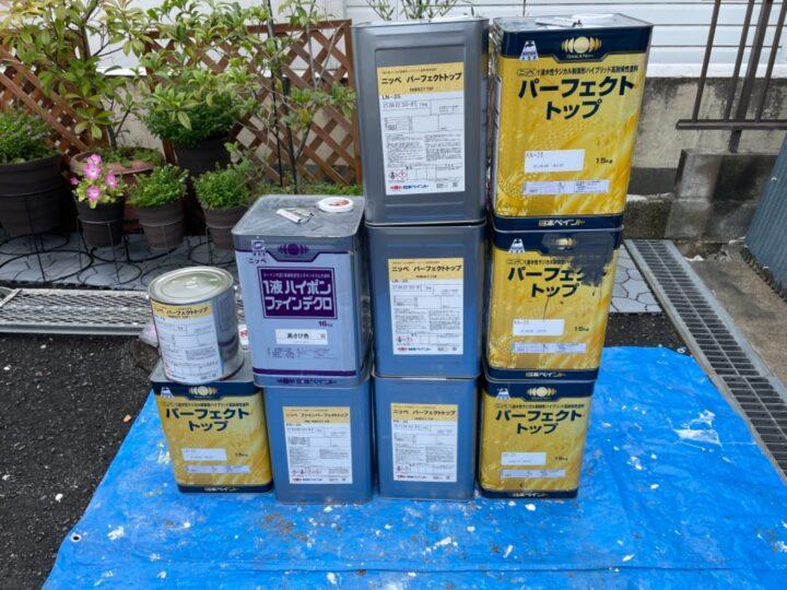 外壁・付帯塗装/材料