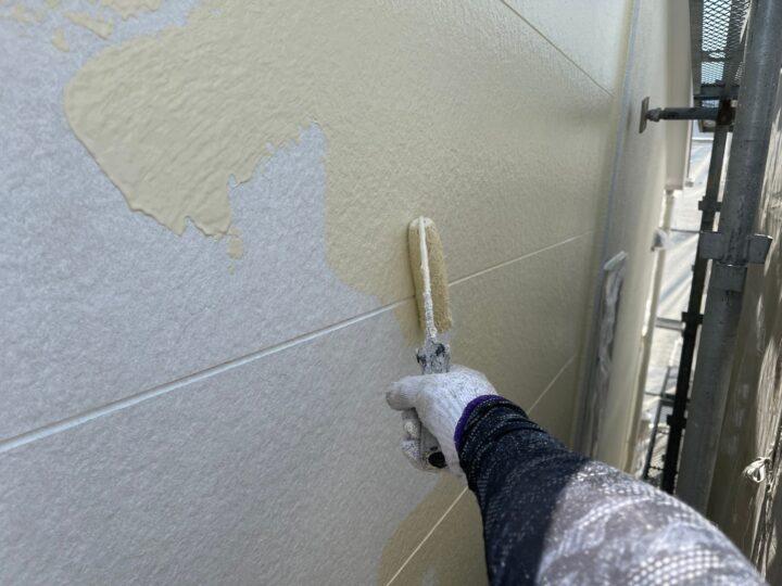 サイディング壁塗装/中塗り