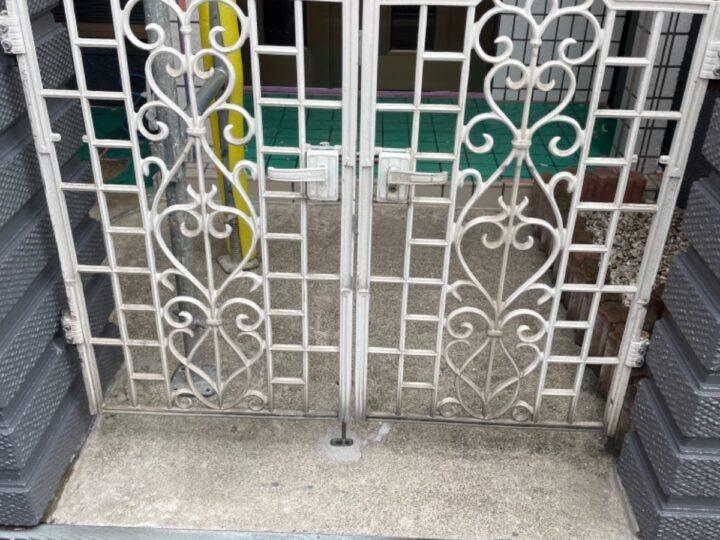 門扉塗装/施工前